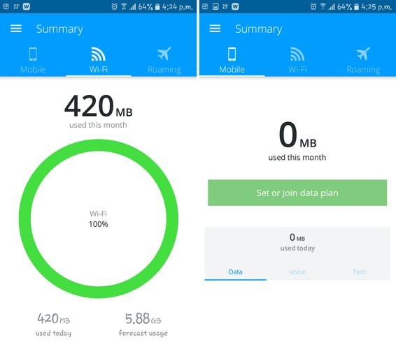 Salvează datele mobile pe Android cu aceste 5 aplicații My Data Manager