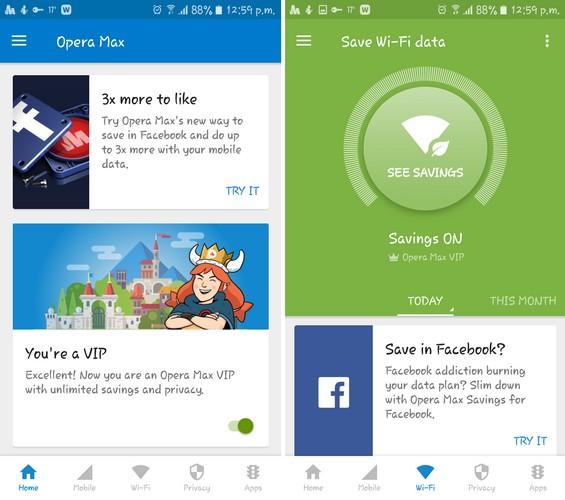 Salvează datele mobile pe Android cu aceste 5 aplicații Opera Data Manager