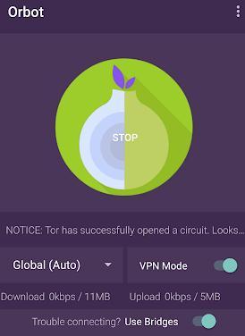 Cum ascunzi IP-ul la calculator sau telefon Android Orbot & Orfox