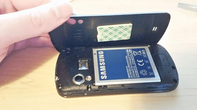 Samsung Android baterie