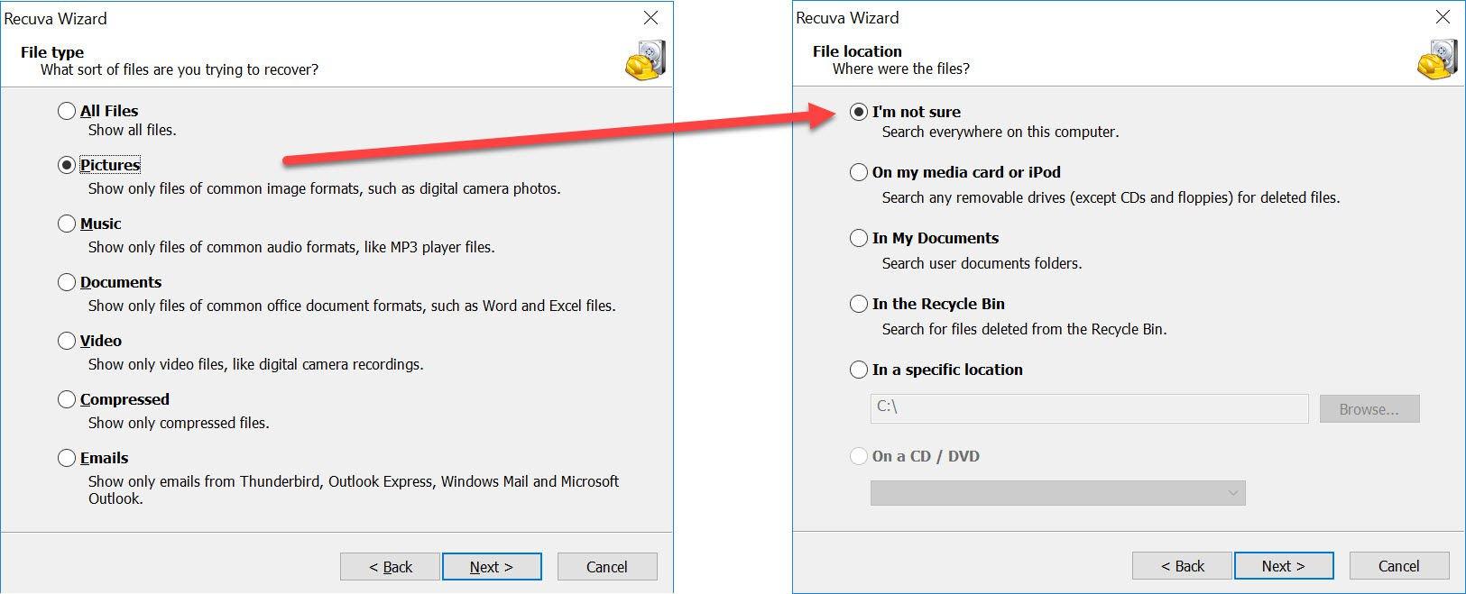 Recuperează pozele șterse pe Android, Iphone, Windows