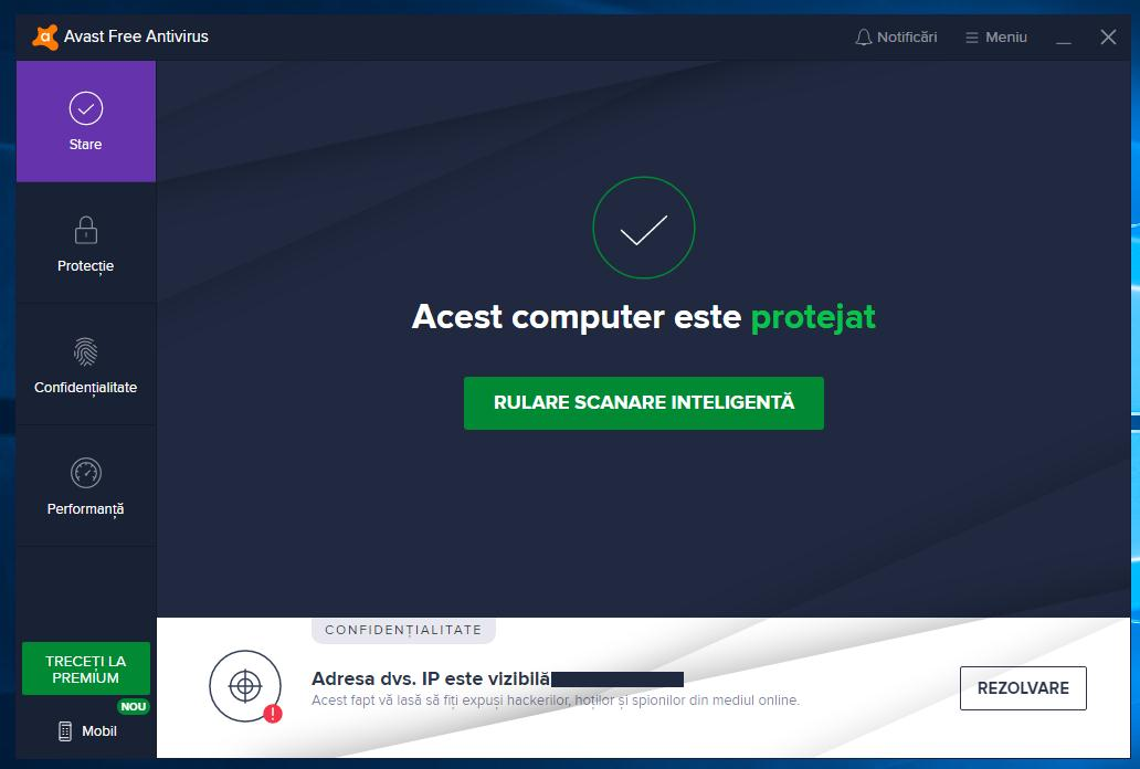 Cel mai bun antivirus gratuit Avast Free Antivirus