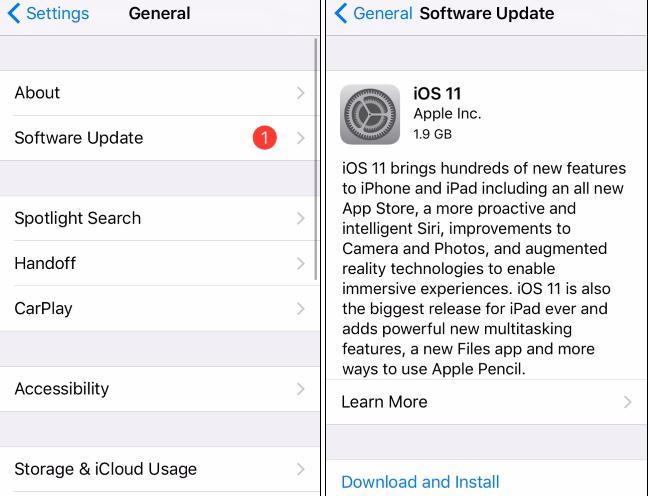 Care este ultima versiune de iOS