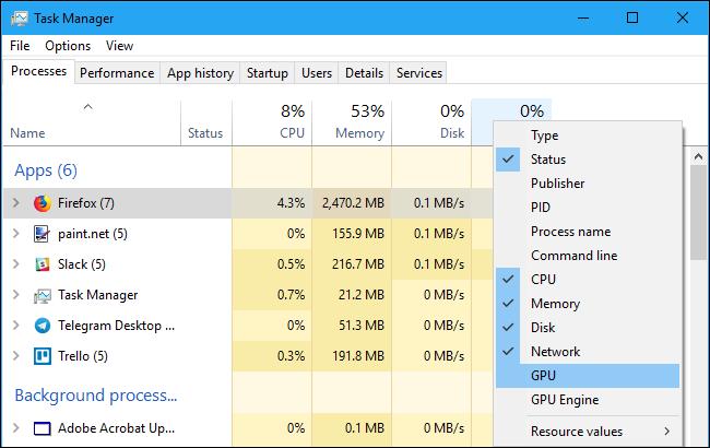 Cum se monitorizează utilizarea GPU