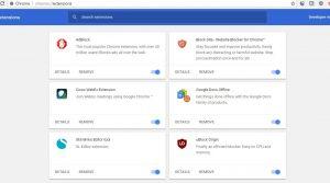 Dezactivare AdBlock google
