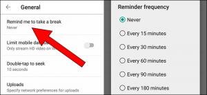 YouTube vă poate aminti acum să luați o pauză de navigare
