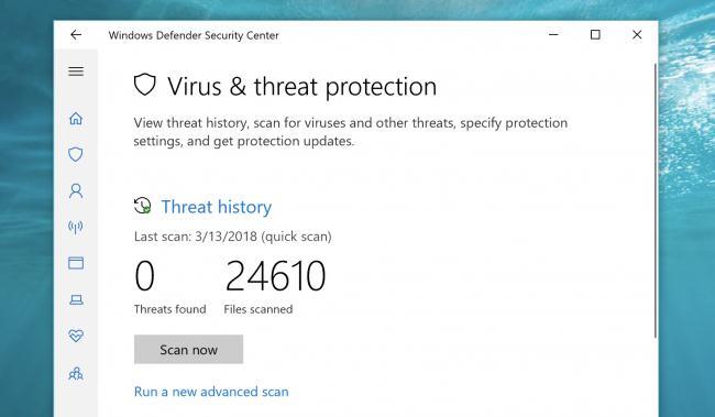 virușii și malware pe Laptop, PC Windows gratis