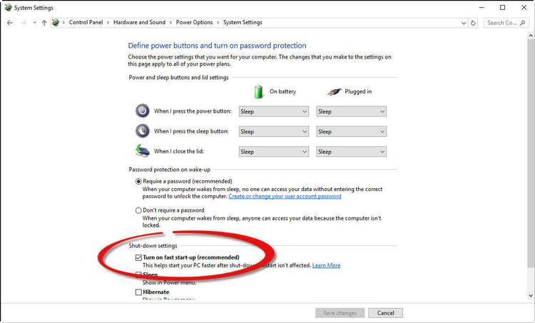 închide Windows 10 în mod corespunzător