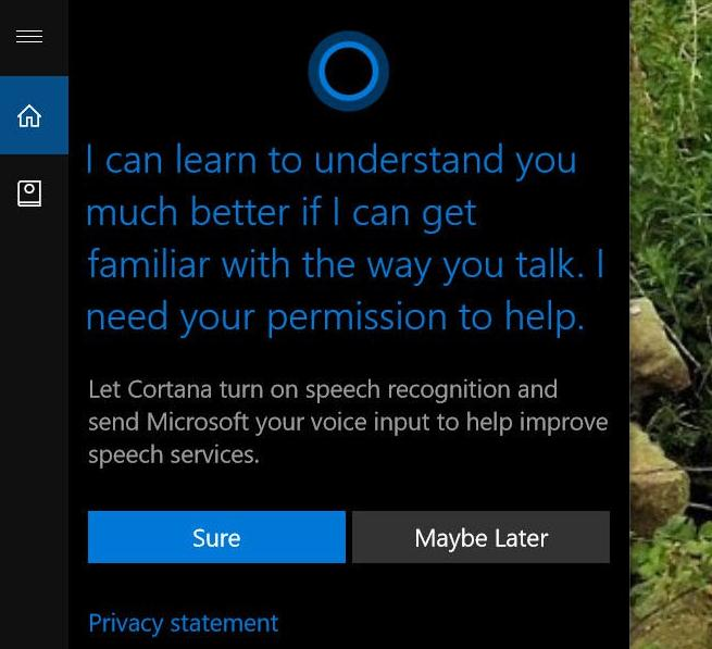 Ce știe Cortana din Windows 10