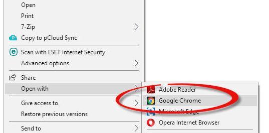 Cum extragi paginile dintr-un document PDF chrome