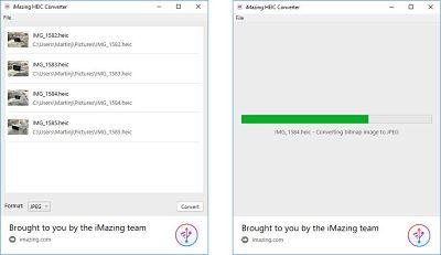 Cum se deschide fișierele HEIC în Windows iMazing converter