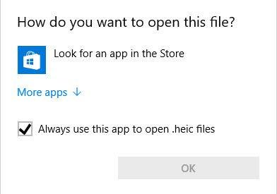 Cum se deschide fișierele HEIC în Windows