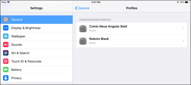 Cum se instalează fonturi pe un iPad sau iPhone