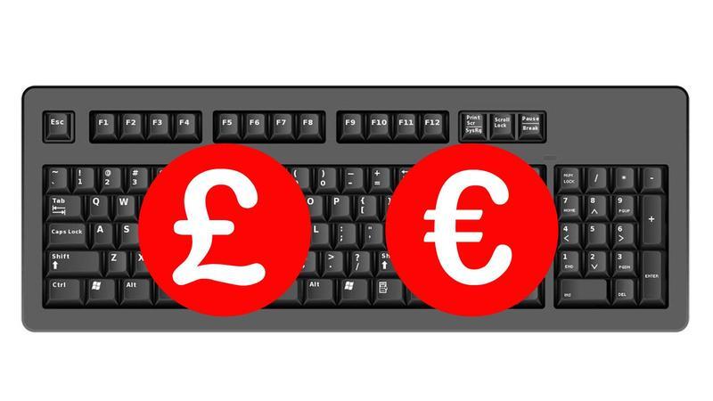 Cum se obține semnul £ sau € pe orice tastatură chiar și pe iPhone sau iPad