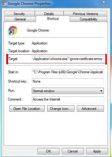Cum se rezolvă eroarea (conexiunea nu este privată) în Chrome sa ignore erori