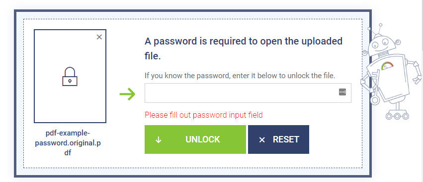 Deblocare PDF securizat online sau pe PC PDFCrack