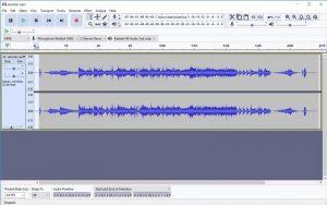 Editare fișiere audio gratuit cu Audacity