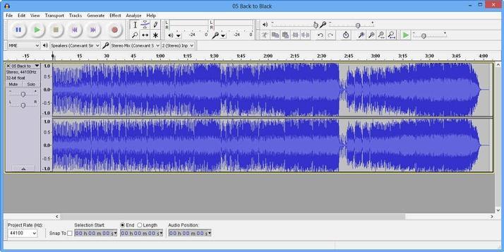 Editare fișiere audio