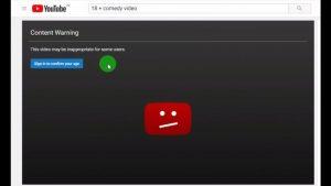 Ignorezi restricția de vârstă pe YouTube fără să te conectezi
