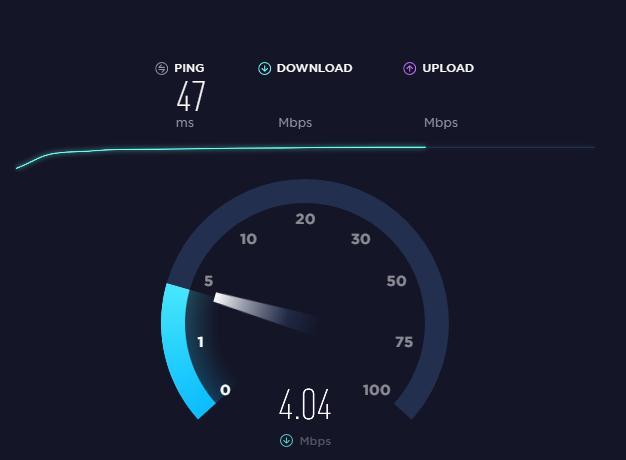 Mărire viteza la uTorrent speedtest