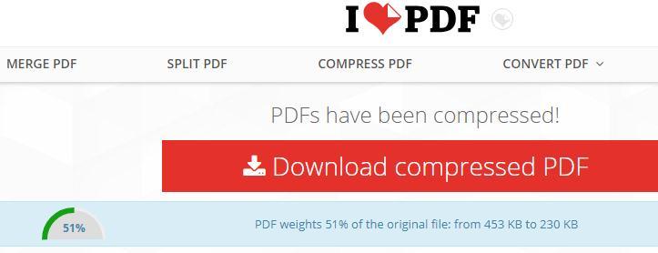 Micșorarea dimensiuni a fișierelor PDF online sau pe PC download