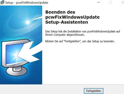 Probleme update Windows tool 3
