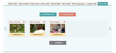 Transformare imagini JPG în PDF mac