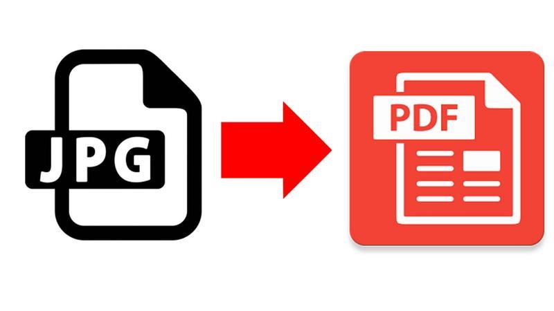 Transformare imagini JPG în PDF pe Windows sau online