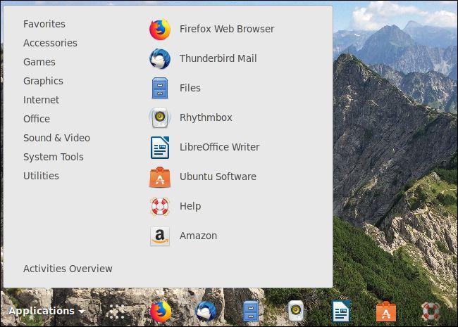 Ubuntu să arate mult mai mult ca Windows