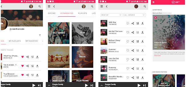 Alte Aplicații pentru ascultat muzica offline gratuit