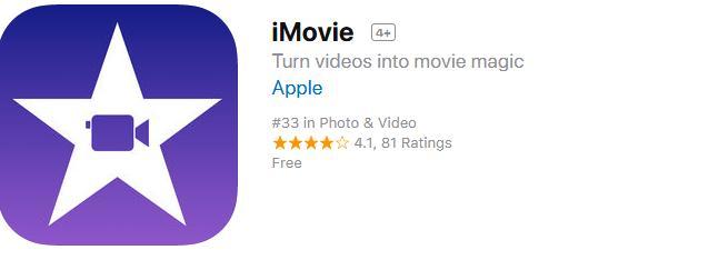 Aplicații pentru a face video cu poze imovie