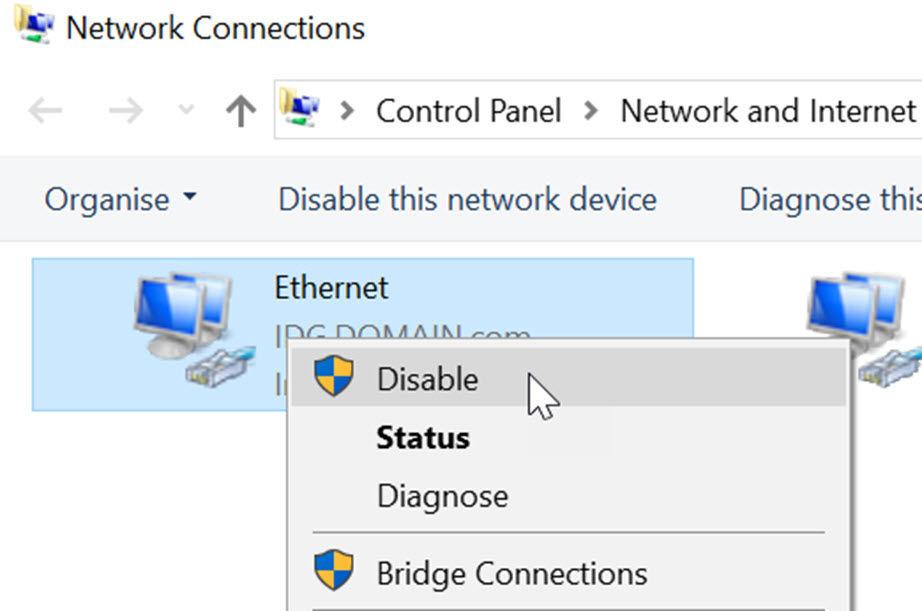Ce faci dacă internetul merge greu pe PC adaptorul de retea