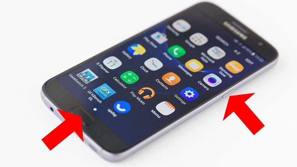 Cum faci captură de ecran (screenshot) pe un telefon Android cu butonul home
