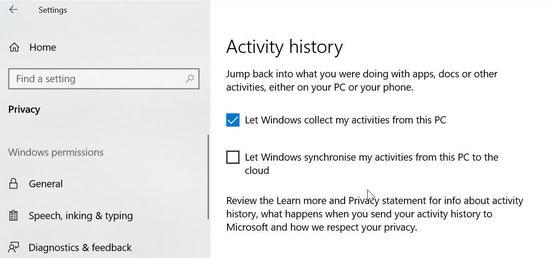 Cum se folosește Timeline în Windows 10 setari pc