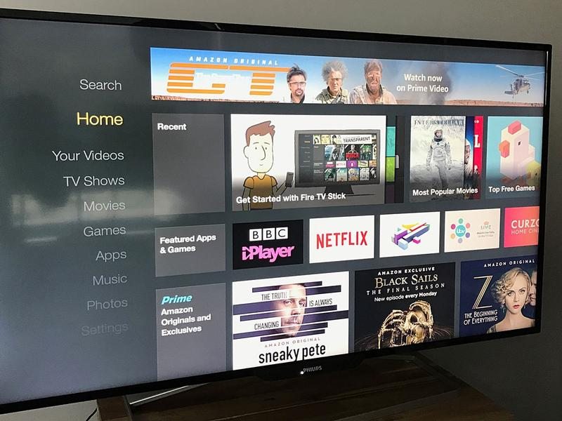 Cum se instalează aplicații pe Fire TV Stick actualizare