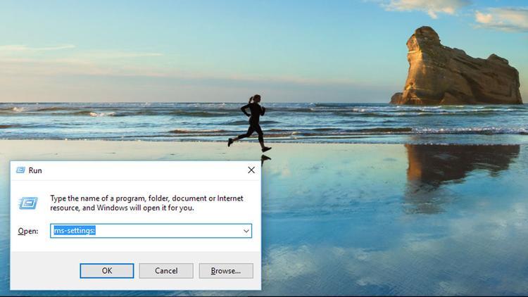 Cum se rezolvă problema cu Meniul Start din Windows 10 comanda run