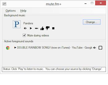 Oprește muzica pe PC la executarea altor sunete