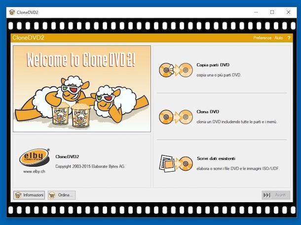 Program de copiat DVD-uri pe Windows Mac și Linux clone dvd