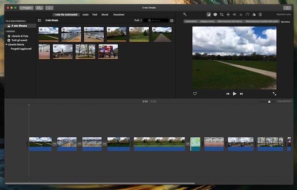 Program de făcut video cu poze pe PC și online iMovie