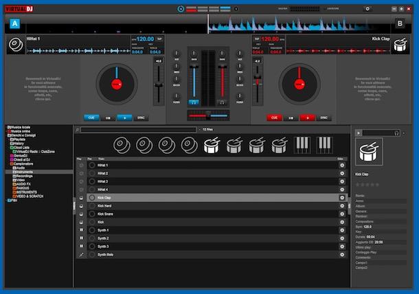 Programe de modificat muzica Virtual DJ