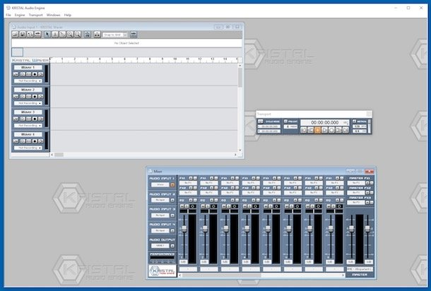 Programe pentru mixat muzica pentru DJ KRISTAL Audio Engine