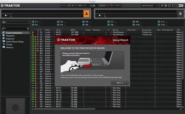 Programe pentru mixat muzica pentru DJ Traktor