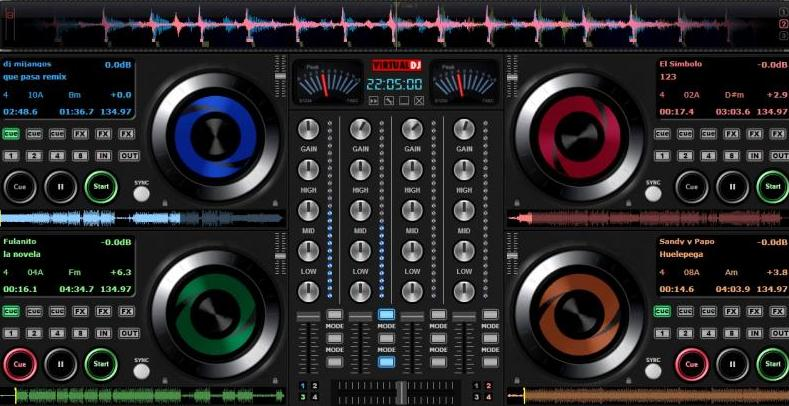 Programe pentru mixat muzica pentru DJ Virtual DJ