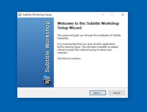 Programe pentru subtitrări filme Subtitle Workshop