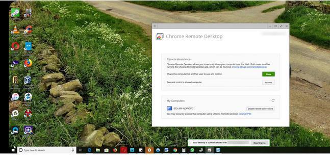 Remote desktop accesezi Pc-ul de pe telefonul Android iphone folosire