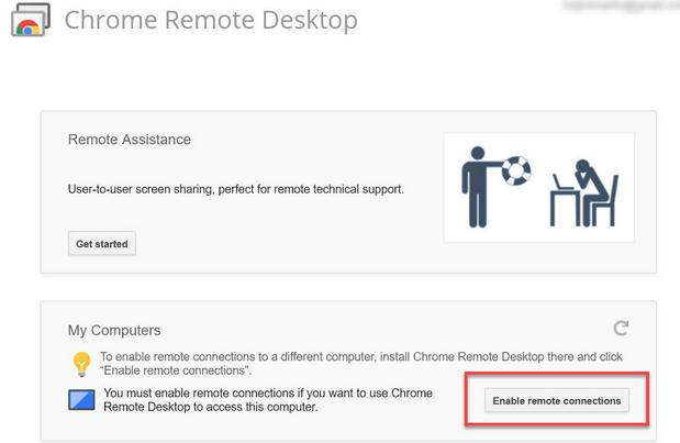Remote desktop accesezi Pc-ul de pe telefonul Android iphone