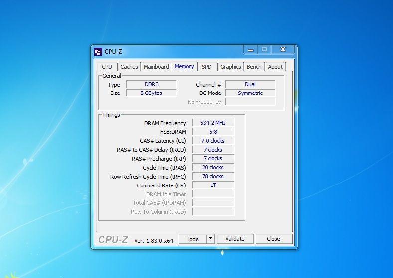 Verifică viteza memoriei RAM pe PC sau Laptop cpu-z viteza ram