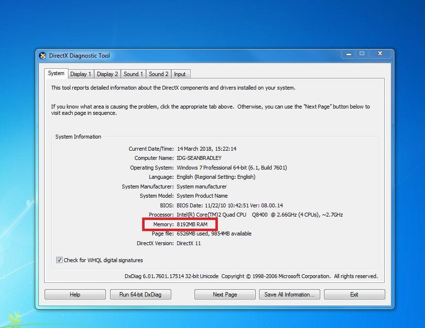 Verifică viteza memoriei RAM pe PC sau Laptop ram pe aclcualator