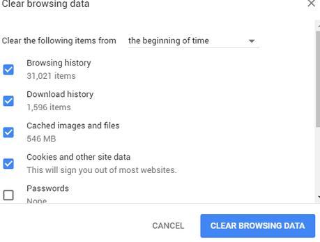 YouTube nu funcționează memoria cache