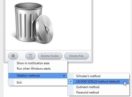 Șterge fișiere sau foldere definitiv în Windows
